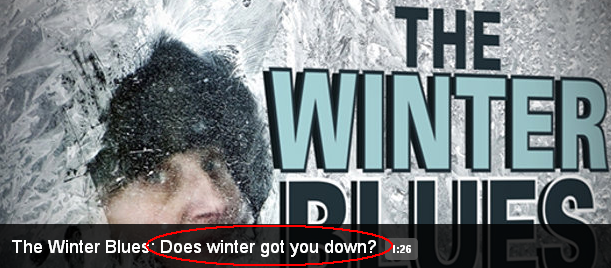 does winter got you down news